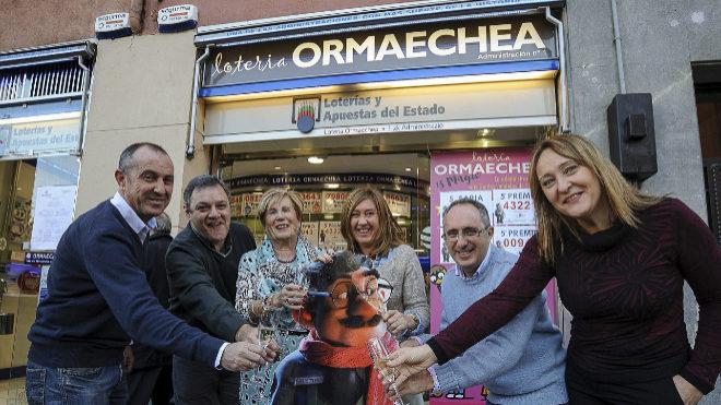 El Equipo de Loytería Ormaechea